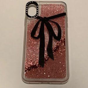 CASETiFY Glitter iPhone XS Max Case